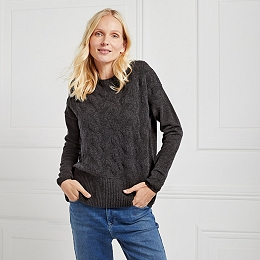 Merino Wool Stitch Detail Sweater