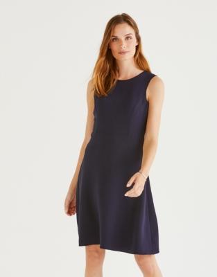 Stretch Crepe Dress