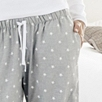 Star Flannel Pajama Bottoms