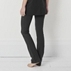 Straight Leg Roll Top Pants