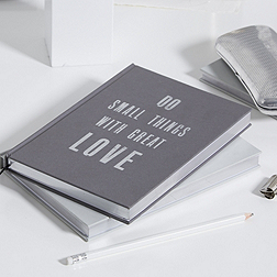 Do Small Things With Great Love Notebook - A5