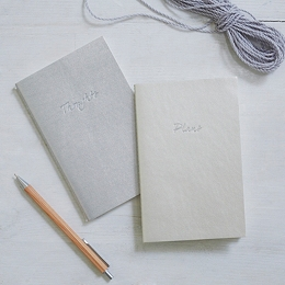 Metallic Notebooks - Plans & Thoughts