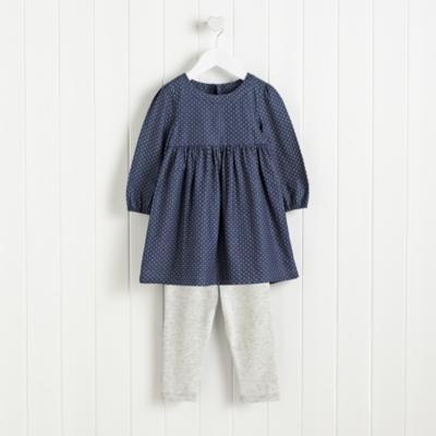 Star Dress & Leggings Set (1-6yrs)