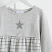 Star Knit Stripe Dress