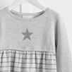 Star Knit Stripe Dress