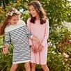 Striped Jersey Dress (4-10yrs)