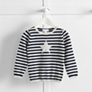 Stripe Star Sweater