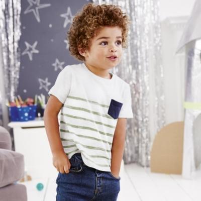 Pocket Stripe T-Shirt  (1-5yrs)