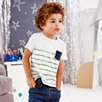 Pocket Stripe T-Shirt  (1-5yrs)