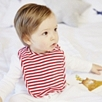 Stripe Baby Bib