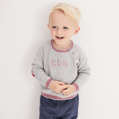 Star Embroidered Sweater - The White Company