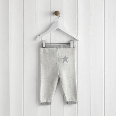Star Motif Knitted Leggings