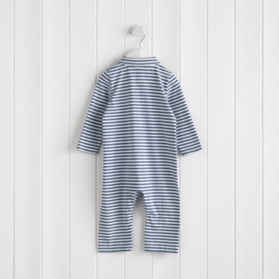 Stripe Pocket Romper