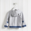Star Elbow Jersey Hoodie