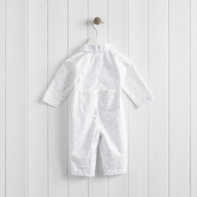 Star Flannel Sleepsuit