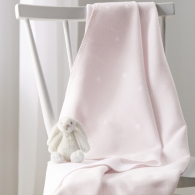 Mini Star Baby Blanket - Pink