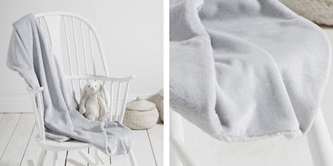 Slinky Faux Fur Blanket