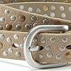 Suede Studded Belt
