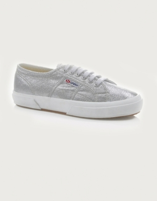 Superga Metallic Canvas Plimsolls