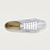 Superga Silver Canvas Plimsolls