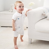 Buy Boat Embroidered Shortie from The White Company