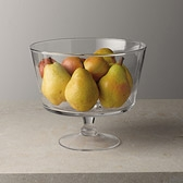 Glass Comport Serving Bowl - Large