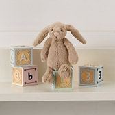 Buy Mini Natural Bashful Bunny from The White Company