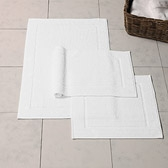 Buy Nieve Bath Mat - White from The White Company