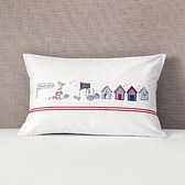 Buy Beach Hut Cushion from The White Company