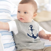 Buy Baby Anchor Tank Top from The White Company
