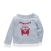 Buy Baby Campervan T-Shirt from The White Company