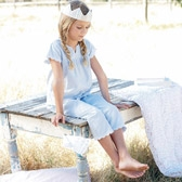 Buy Chambray Embroidery Pyjamas from The White Company