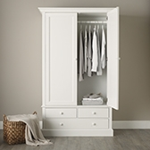 Buy Classic Large Wardrobe from The White Company