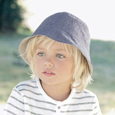 Buy Boys' Reversible Hat from The White Company