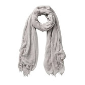 Buy Cross Weave Detail Scarf - Natural from The White Company