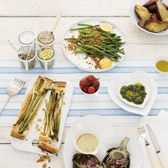 Buy Patmos Stripe Table Runner from The White Company