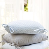 Buy Pinstripe Seat Pad from The White Company