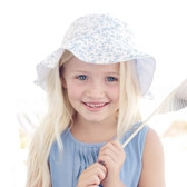 Buy Girls' Reversible Hat from The White Company
