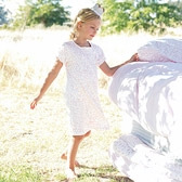 Buy Floral Heart Nightdress from The White Company