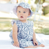 Buy Baby Cornflower Dress & Knickers from The White Company