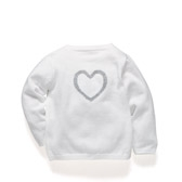 Buy Baby Heart Cardigan from The White Company