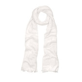 Buy Jersey Linen Scarf - White from The White Company