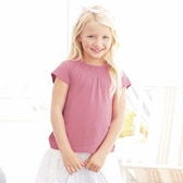 Buy Stretch Detail Jersey Top - Rose from The White Company