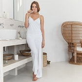 Buy Lace Jersey Pyjamas - White from The White Company