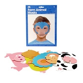 Buy Farm Animal Face Masks from The White Company