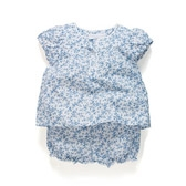 Buy Baby Cornflower Blouse & Bloomers from The White Company