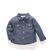 Buy Baby Chambray Shirt from The White Company