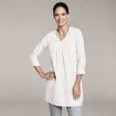 Buy Linen Tunic - White from The White Company