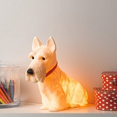 Buy Scottie Dog Night Light from The White Company
