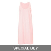 Buy Slub Nightie - Powder Pink from The White Company